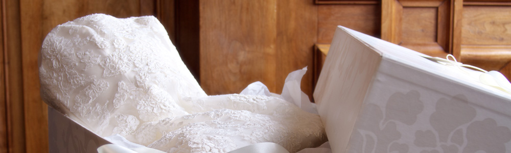 Wedding Dress Clean & Boxed Service